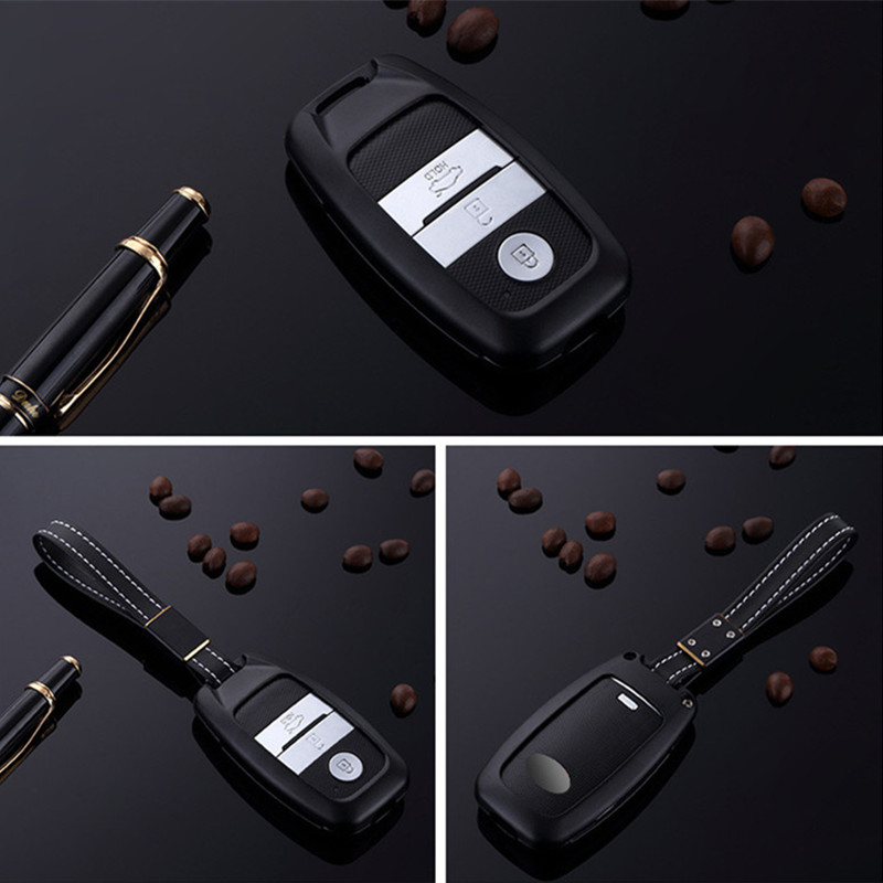 Car-Aluminium-Alloy-Key-Cover-Shell-Case-Holder-For-KIA-Sorento-KX5-KX3-K3-K5-Sportage (4)