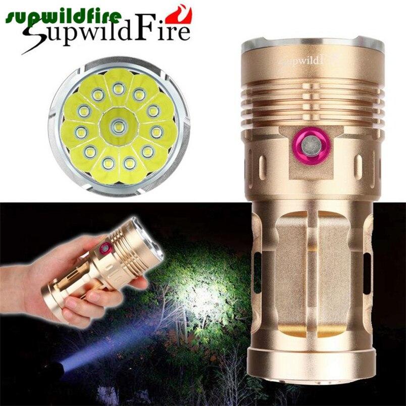High Quality 28000lm 11 X Xm-l T6 Led Hunting Flashlight 4 X 18650 Lamp Torch Quality First Lights & Lighting Led Lighting