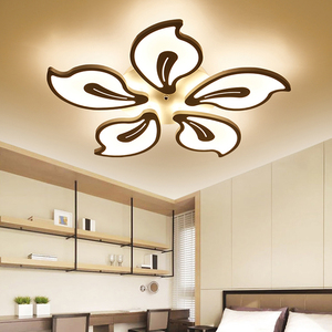 Image 4 - New Modern led ceiling lights for living room bedroom Plafon home Lighting combination White and Black home Deco ceiling lamp