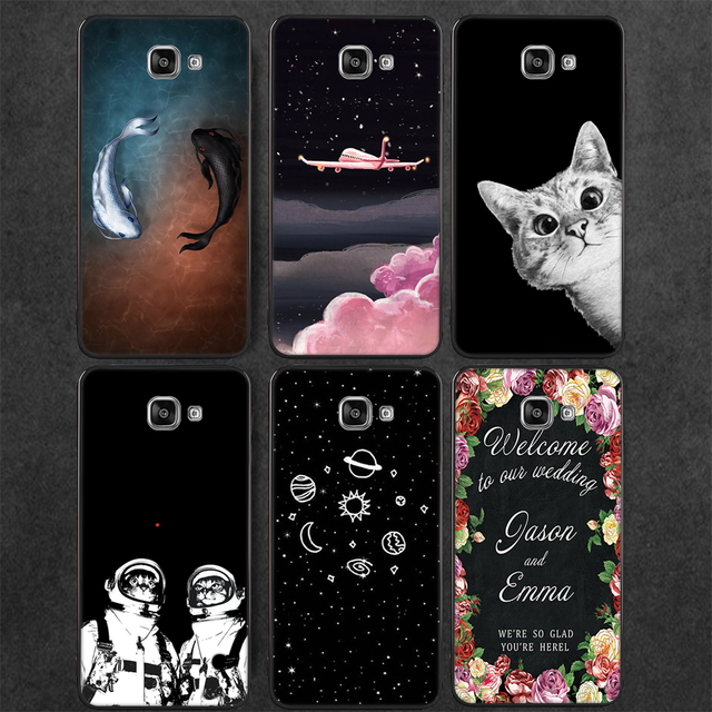 Cute Cat Pattern Phone Case For Samsung Galaxy S9 S8 Plus S7 S6 Edge Note 8 J7 J5 J3 2017 2016 J4 J6 2018 Silicon TPU Cover Case