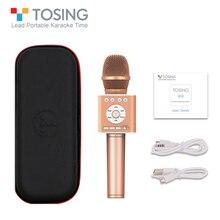 TOSING Q12 концепция караоке беспроводной Bluetooth микрофон с FM автомобиля КТВ хор режим сопряжения USB шумоподавление сопровождение