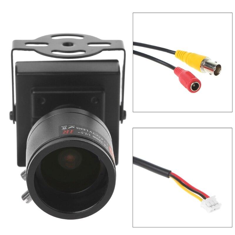Image 5 - 700TVL Mini caméra de vidéosurveillance à objectif  2.8 12mm pour la sécurité, le dépassement de voiturePièces pour dispositif de vidéosurveillance   -