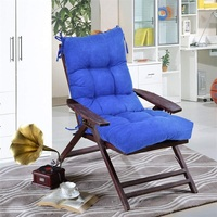 42 Indoor Outdoor Tufted Chair Cushion Overstuffed Construction Suede Fabric Cushion with Superior PP Cotton HT0978