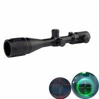 GUGULUZA Hunting 3 9x40AOEG Riflescopes Mil Dot Red Green Illuminated Rifle Scope Tactical Optical Sight