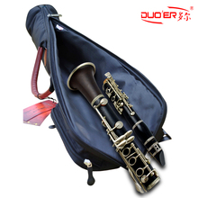 wholesales professional Portable Clarinet package bag sleeve case clarinet parts shockproof waterproof soft  shoulder free shipp