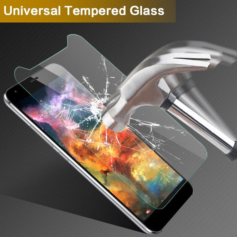 Универсальный закаленное Стекло Плёнки Экран протектор для Fly FS554 Мощность плюс FHD 5.5 дюймов 9 H 2.5D Anti-Explosion экран протектор