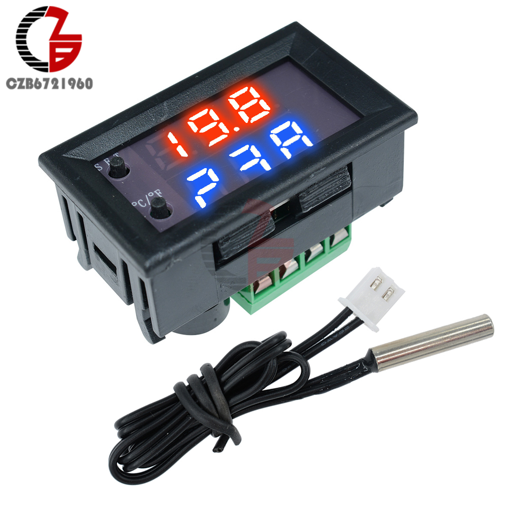 Diymore Ac Dc 12v Stc 1000 Digital Temperature Controller All Heating Sensor Stc1000 220v 10a Thermostat Purpose