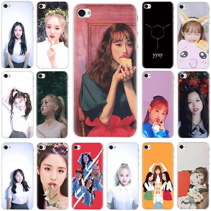 Loona Yyxy Hard Telefoon Cover Case Voor Iphone 5 5 S 5C Se 2020 6 6 S 7 8 Plus X Xr Xs 11 Pro Max