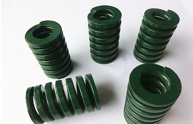 free shipping 10Pcs 20mm x 10mm x 35mm Spiral Metal Stamping Compression Die Spring free shipping 16mm x 8mm x 50 mm green metal tubular section mould die spring 10pcs lot