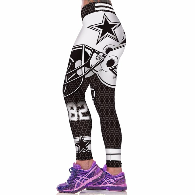 Breathable Elastic Leggings with Colorful Prints