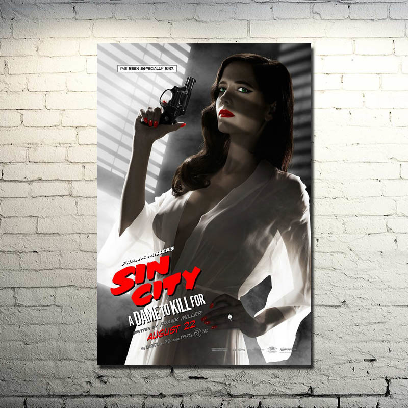Sin City: A Dame to Kill For Posters Featuring Eva Green