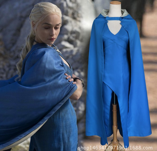 Game of Thrones Daenerys Targaryen cosplay party Dress women Halloween Costume