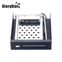 Hot Swap Single Bay 2.5 SATA III 3.0 Hard Disk Drive HDD & SSD Tray Internal Mobile Rack Hard Drive Enclosure Docking Station
