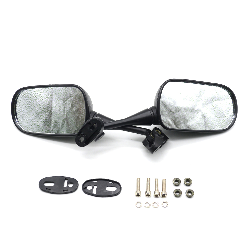 for 1Pair Universal Motorcycle Backup Rearview Mirrors accessories mirror For Triumph Street Triple 675/R mit Radialp 1050/Sport
