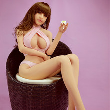 165cm Marye Big Tits Perfect Lover Lifelike Real Silicone Sex Doll Charming Live Mold Vagina Sex Partner Adult Products Sex Shop