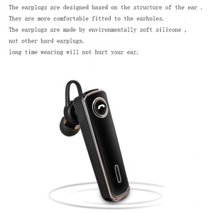 Image 4 - Bluetooth Earphone 20 Hrs Working V5.0 Headset Wireless Earbud Earphone Hands free Stereo With Mic  For Car Driving Phone Sport