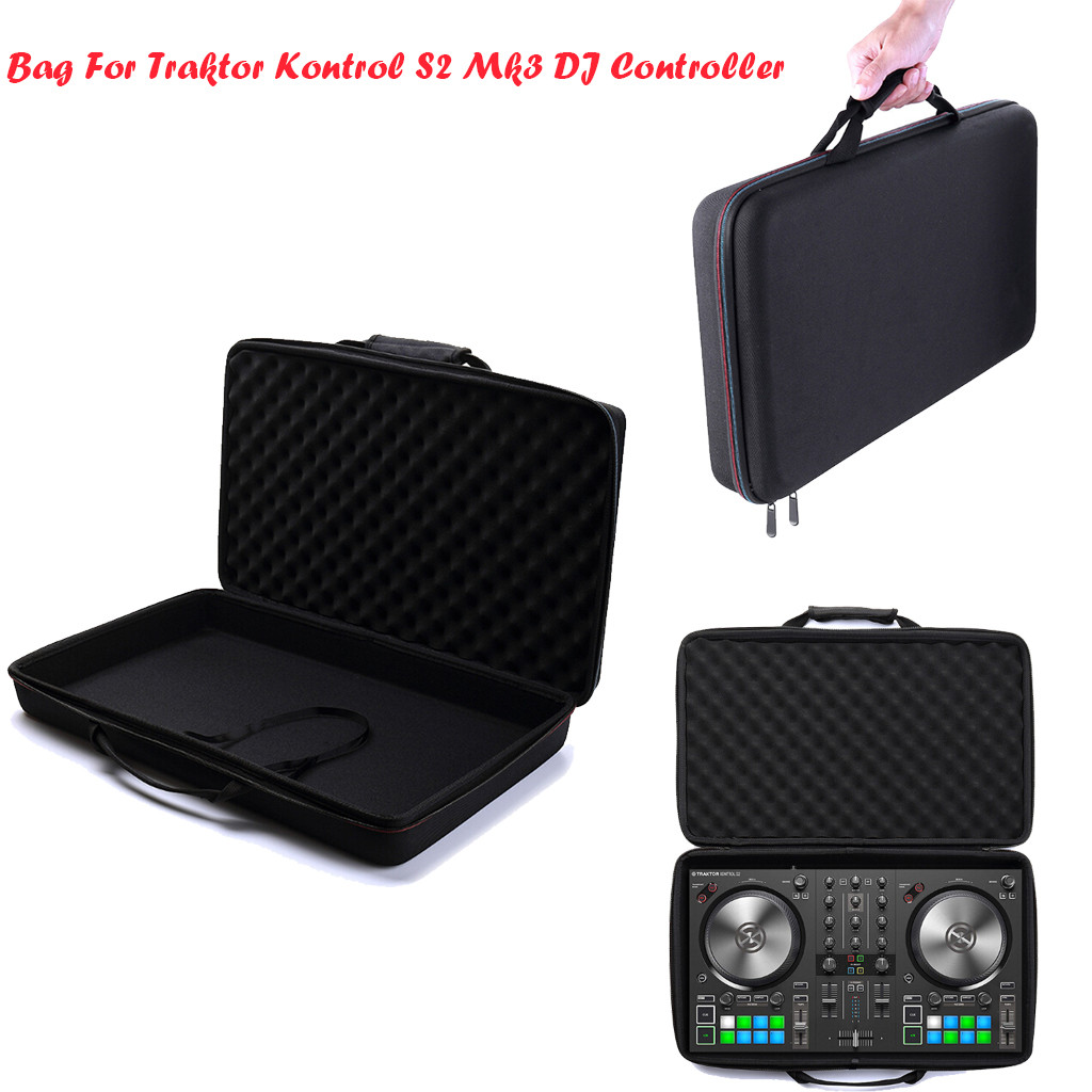 Newest 2019 Eva Hard Travel Pouch Box Cover Bag Case For Native Instruments Traktor Kontrol S2 Mk3 Dj Controller