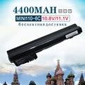 4400 mah bateria do portátil para compaq mini 102 mini 110c cq10 mini110-1000 cq10-100 para hp mini 110 mini110 537626-001 hstnn-cb0c