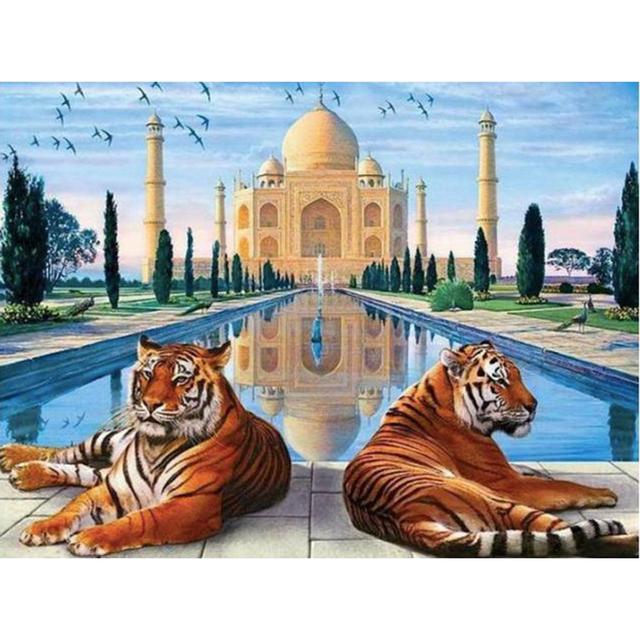 Taj Mahal & Tigers