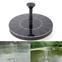 Water Pump Fountain Garden Pond Solar Power Panel Kit Pool Submersible Watering Pool Automatical For Fountains Waterfalls
