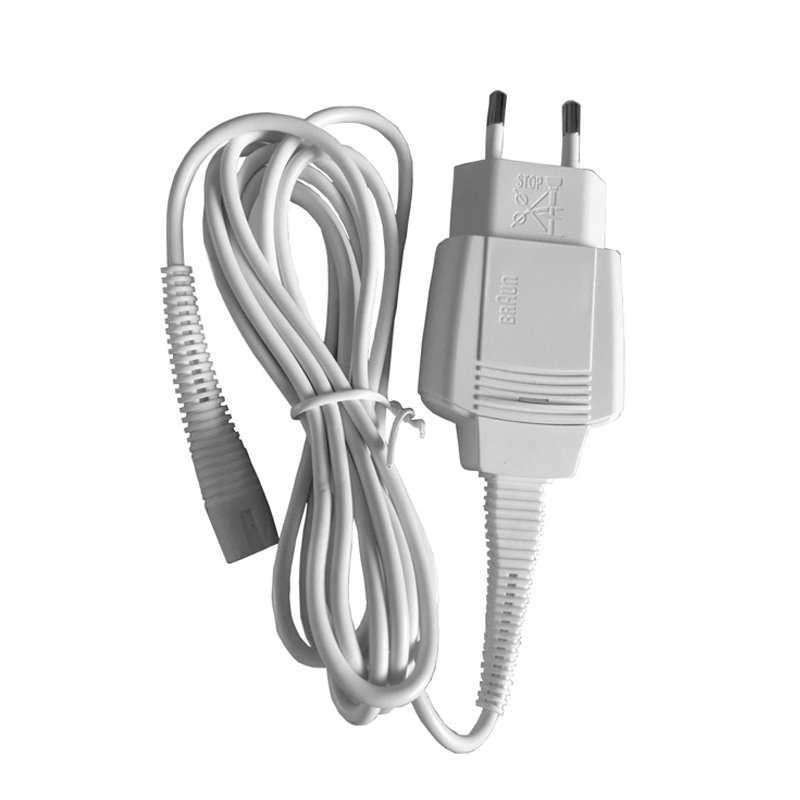 Universal Charger Cord For Braun Shaver EU Dual 100-240V AC Power Adapter 12V Output Wall Charging Cable