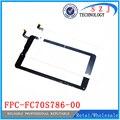 Новый 7 '' дюймовый сенсорный экран для планшет емкостный сенсорный экран панели планшета FPC-FC70S786-02 / FPC-FC70S786-00 бесплатная доставка