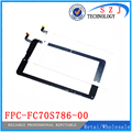 New 7'' inch touch screen for tablet capacitive touch screen panel digitizer FPC-FC70S786-02 /FPC-FC70S786-00 Free shipping
