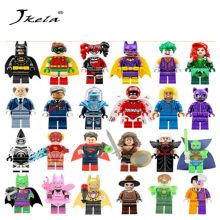 [New] Single Super Heroes DIY Blocks X-man Avengers Justice League Model Building Blocks Compatible With Batman(China)