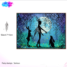 цены Fairy whimsical whisps Clear Stamps Scrapbook Paper Craft Clear stamp scrapbooking card making