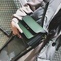 Мода сумки на ремне ретро замок небольшой площади сумка случайные ударил дикий столкновение цвет прилив сумка сумка
