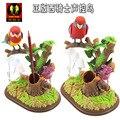 Детская электрические игрушки птица Голосового управления моделирование попугай игрушки, гриб СВЕТОДИОДНЫЕ фонари, пенал, рождественский подарок w6988