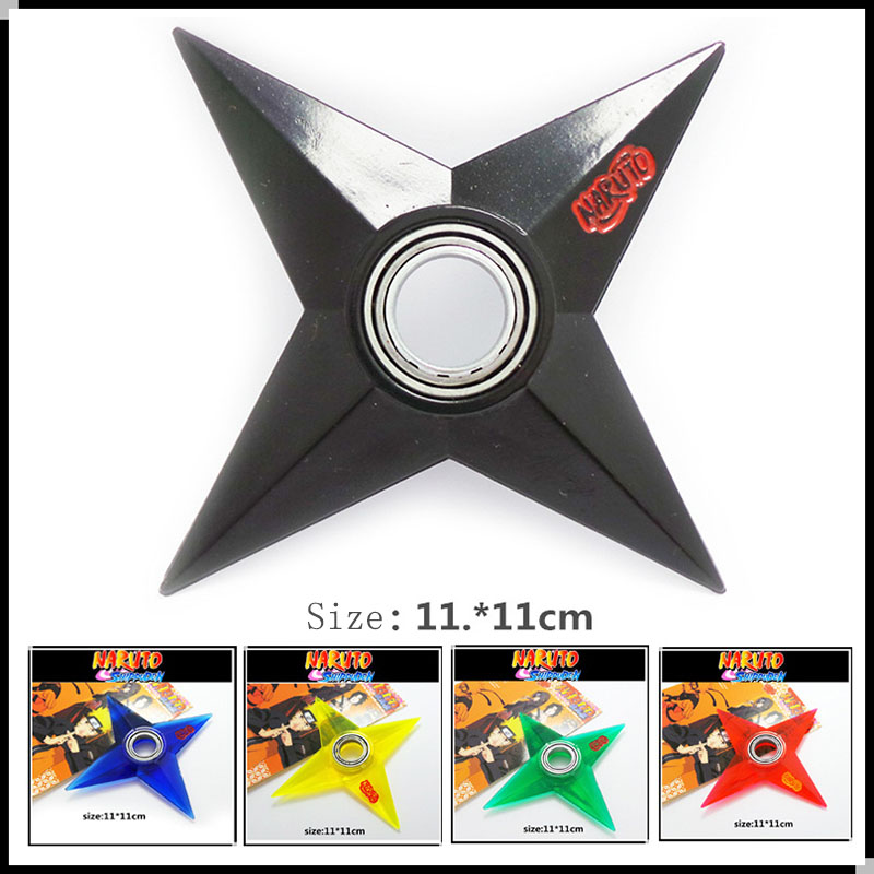 11cm Naruto Shippuden Pvc Kunai Shuriken Figure Toy Japan Anime Ninja Cosplay Weapon Props Accessory Collection Kids Gift Toys new draven shuriken naruto rotatable darts weapon model kids toy christmas gift cosplay props for collection fidget toys gift