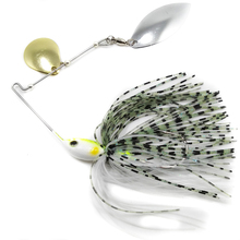 20g 11cm buzzbait spinner spoon lead head jig Spinnerbait Rotating sequins fishing lures tackle