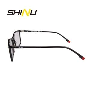 Image 3 - SHINU Brand Eyewear Multifocal Progressive Reading Glasses Diopter Eyeglasses For Near And Far Distance Acetate Optical Glasses