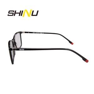 Image 3 - SHINU Marchio di Occhiali Multifocali Progressive Occhiali Da Lettura Diottrie Occhiali Da Vista Per Vicino E Lontano Distanza di Occhiali Da Vista In Acetato