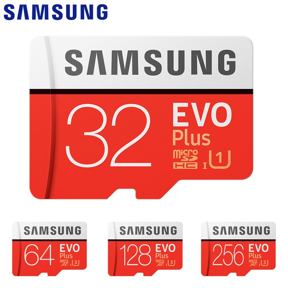 SAMSUNG EVO Memory Card 32 64 128 GB Micro SD 128GB 32GB 64GB 256GB 512GB Micro SD Card SD/TF Flash Card MicroSD Carte For Phone