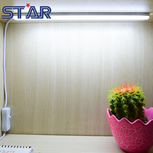 USB LED Desk Lamps 30cm Length SMD 2835 DC5V 90leds/m LED Cabinet Closet Book Table Night Light with Switch LED Rigid Bar Strip