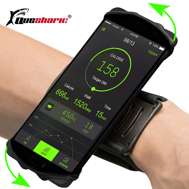 4-5.5in Running Phone Wristband 180 degree Rotatable Running Bag Belt Wrist Strap Jogging Cycling Gym Arm Band Bag for iPhone4-5.5in Running Phone Wristband 180 degree Rotatable Running Bag Belt Wrist Strap Jogging Cycling Gym Arm Band Bag for iPhone