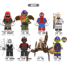 X0241 AvengersING Parallel universe compatible LegoINGlys Ultimate Spiderman Green Devil King Collection child Building module t