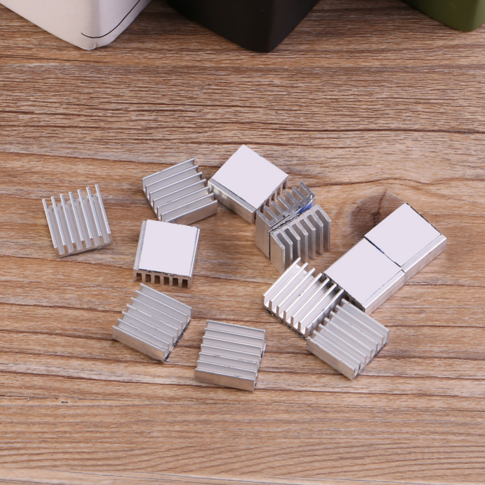 20 Pieces Lot X9 9x9x12mm 9mm Mini Cooling Aluminum Heatsink