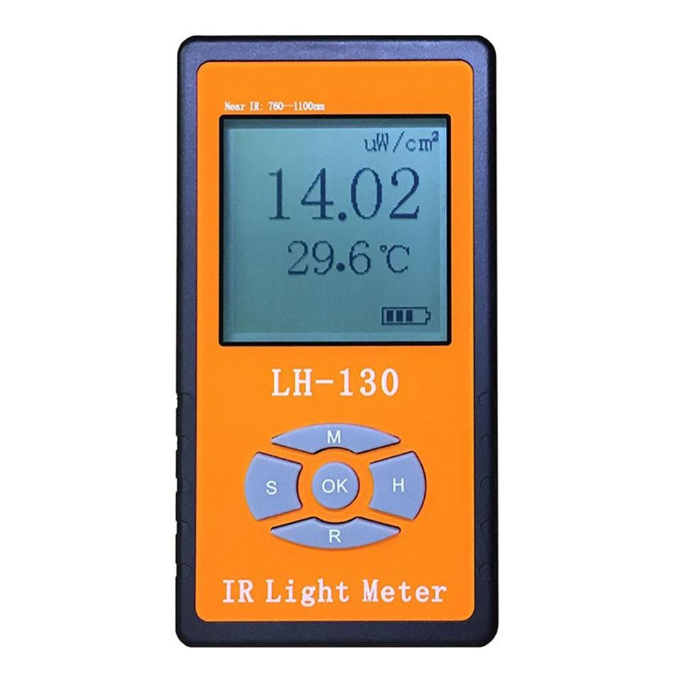 Professionnel haute qualité infrarouge lumière Irradiance compteur de puissance radiomètre LED intensité lumineuse lumière du soleil testeur de contrôle à distance