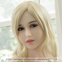 WMDOLL Sex Dolls Head for Real Silicone Sex Doll Japanese Love Doll Adult Oral Sex Toys