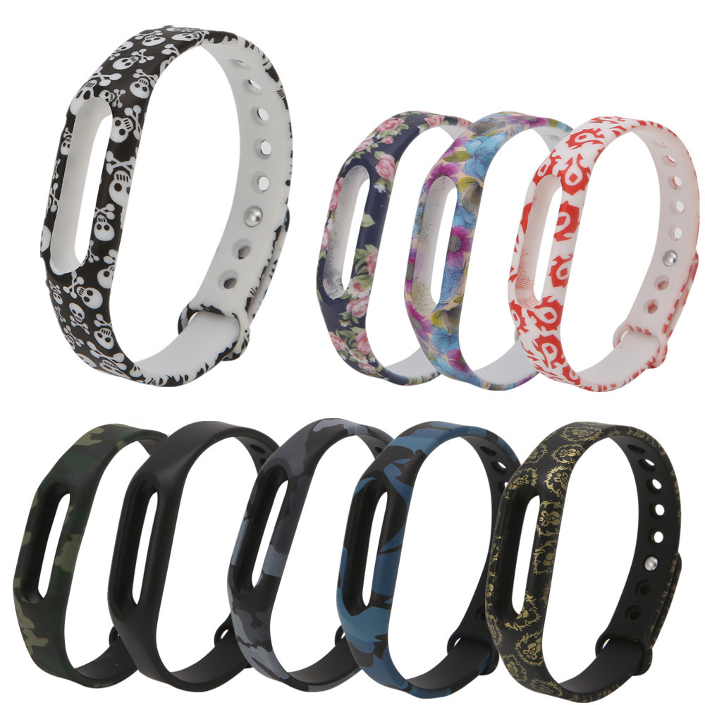 Silicone Replacement Wristband For Xiaomi Mi Band 1 Bracelet Strap