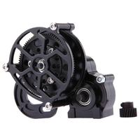 11 11 Metal Transmission Center Gearbox For 1 10 Axial SCX10 Accessories Gear Box RC Parts