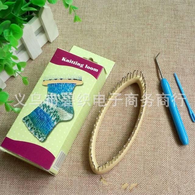 Peg Socks Wool Yarn Knitting Loom Diy Craft Wooden Weaving Tools For