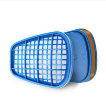 Filter Box For Gas Mask Paint Chemical Pesticide Fire Methanol Methanol Formaldehyde Odor Particles Dust Mask