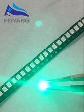 100 adet/grup SMD LED 2835 yeşil 0.2W yüksek parlak ışık yayan diyot çip LED 520-525NM