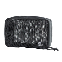 OneTigris Nylon Mesh Organizer Foldable Cuboid Travel Organizer Ideal for Packing Up Your Clothes Toiletries Everyday Gears