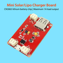 Elecrow Mini Solar Lipo Charger Board CN3065 Lithium Battery Charge Chip DIY Outdoor Application Kit Charging Board Module
