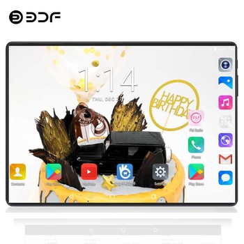 BDF 10 Inch 8/Octa Core Android 7.0 Tablet Pc 1280*800 Display 4GB RAM 64GB ROM Dual SIM Tab 4G Phone Call Video Pc Tablets 10.1